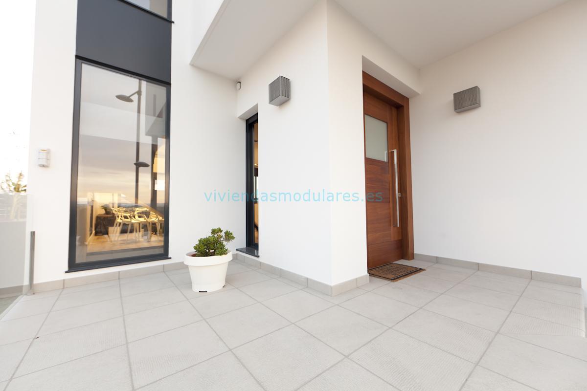 Vivienda modular godella valencia viviendas modulares - Casas modulares valencia ...